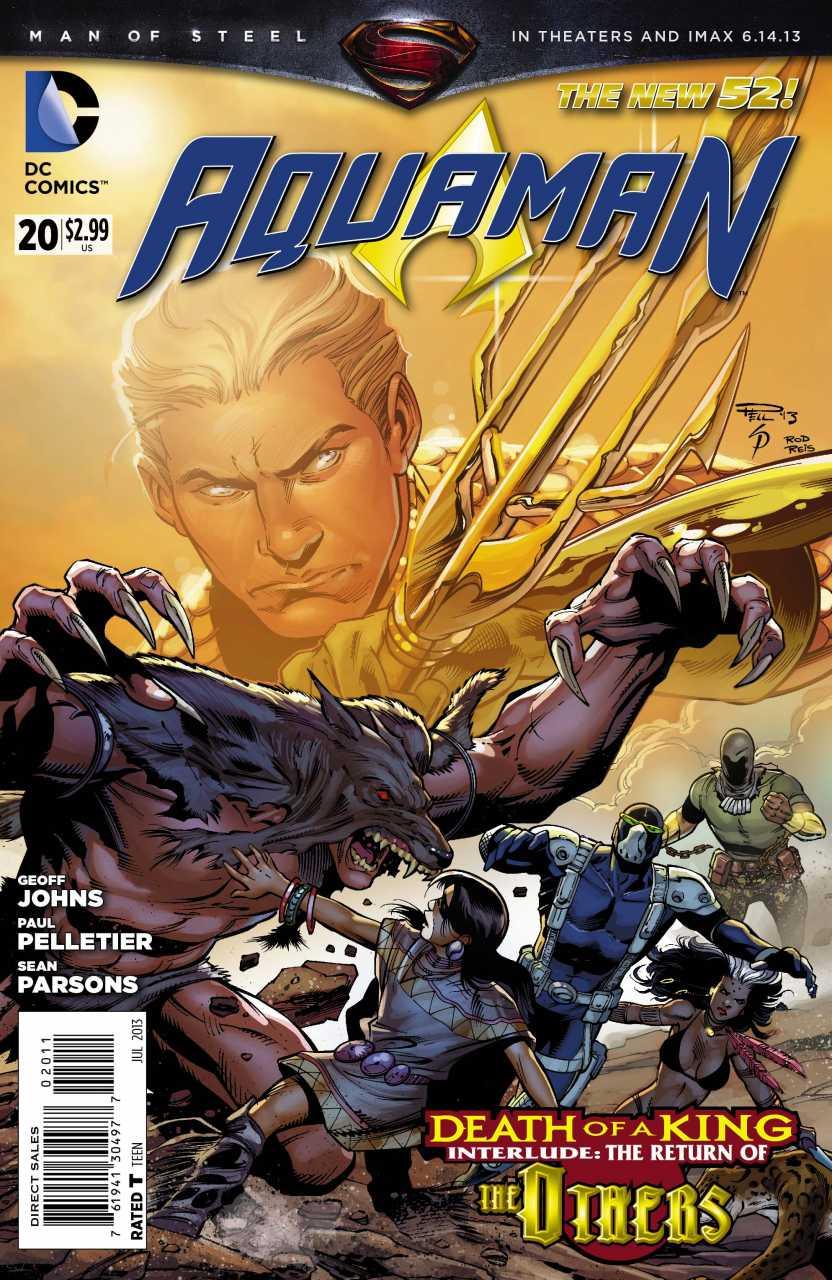Aquaman 20 - 20 - cover #1