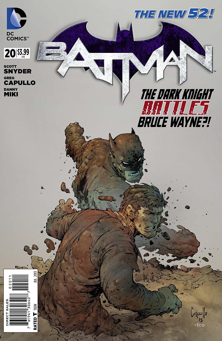 Batman 20 - 20 - cover #1