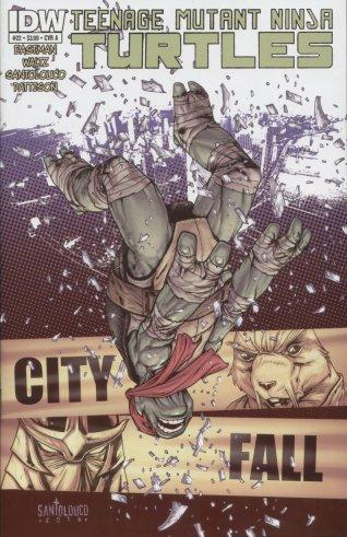 Les Tortues Ninja 22 - City fall Part One