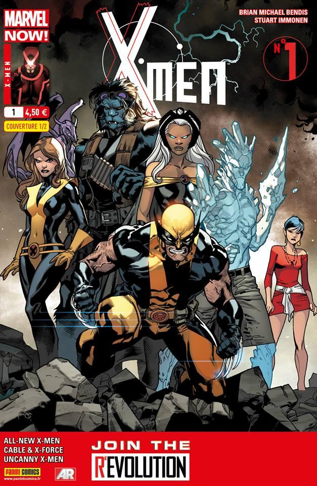X-Men 1 - Couverture 1/2 par Suart Immonen