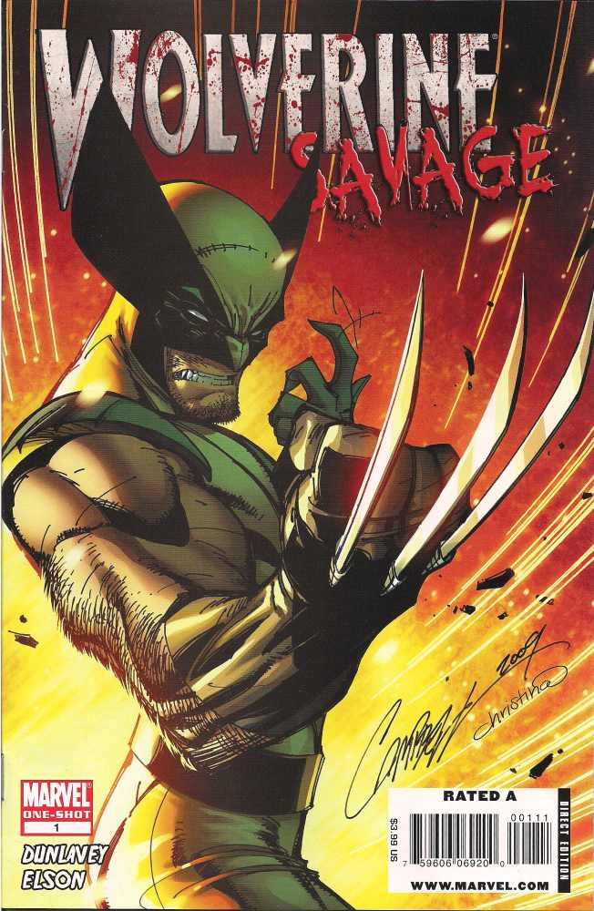 Wolverine - Savage 1 - Sushi