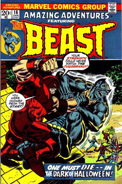 Amazing Adventures 16 - And the Juggernaut Will Get You... If You Don't Watch Out!