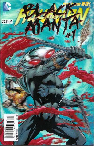 Aquaman 23.1 - Black Manta