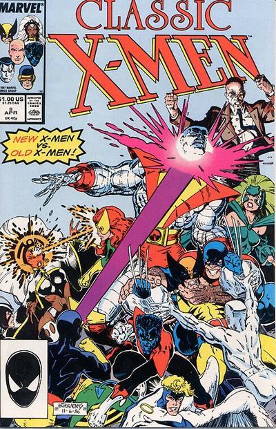 Classic X-Men 8 - Greater Love Hath No X-Man...