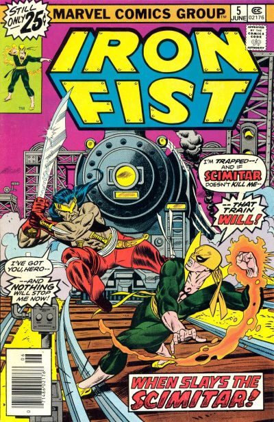 Iron Fist 5 - When Slays the Scimitar!