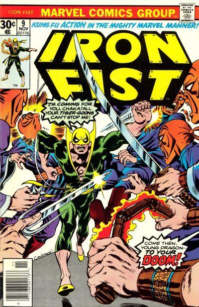 Iron Fist 9 - The Dragon Dies at Dawn!