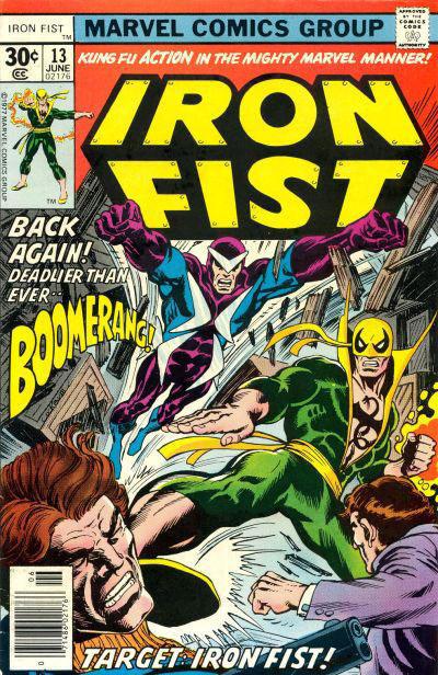 Iron Fist 13 - Target: Iron Fist!
