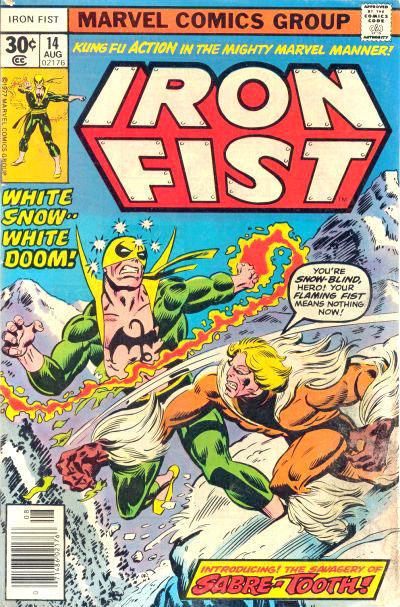 Iron Fist 14 - Snowfire