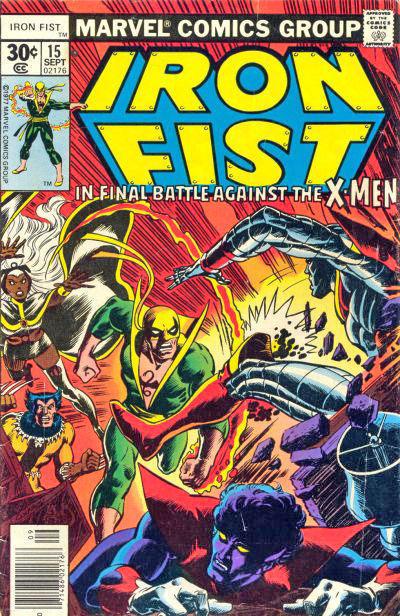 Iron Fist 15 - Enter, the X-Men