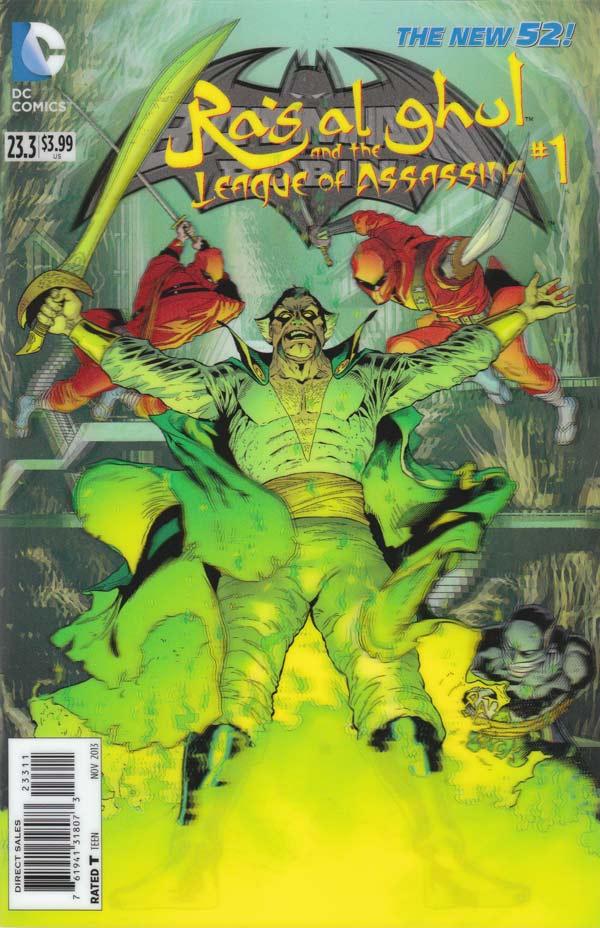 Batman & Robin 23.3 - Ra's Al Ghul and the League of Assassins