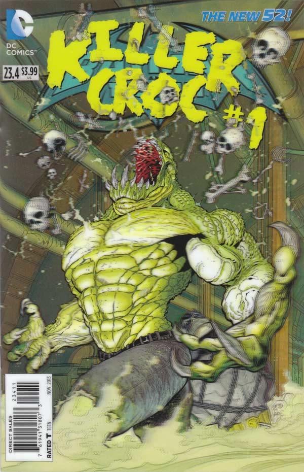 Batman & Robin 23.4 - Killer Croc