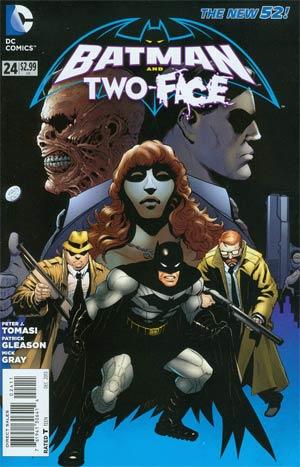 Batman & Robin 24 - Batman and Two Face