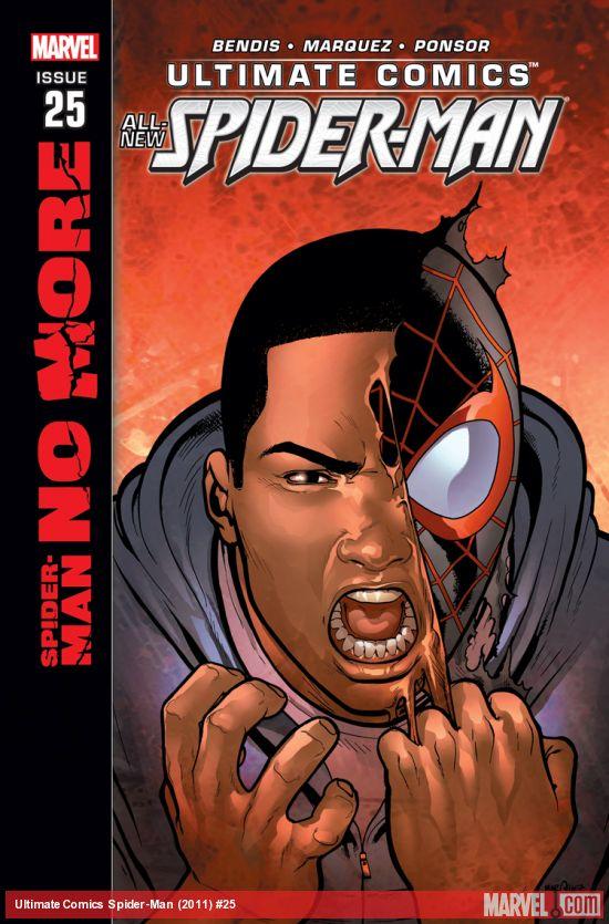 Ultimate Comics - Spider-Man 25 - Spider-Man No More: Part 3 of 6
