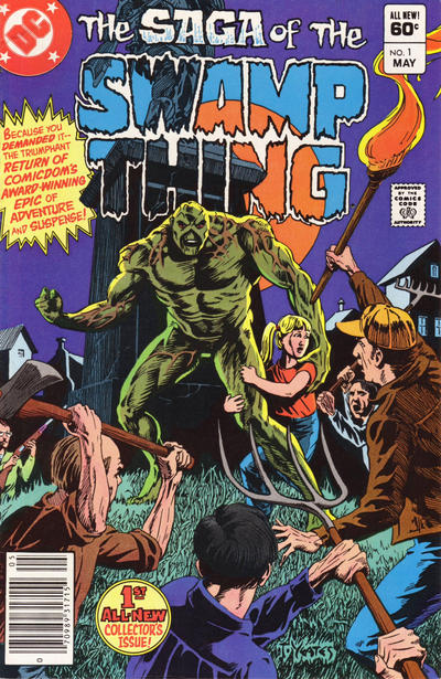 The saga of the Swamp Thing 1 - What Peace There mai be in Silence