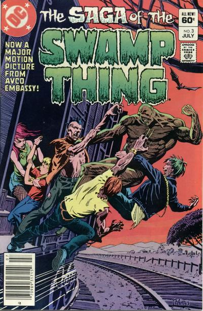 The saga of the Swamp Thing 3 - A Town Has Turned to Blood