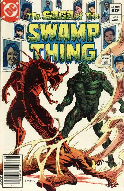 The saga of the Swamp Thing 4 - In the White Room