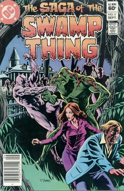 The saga of the Swamp Thing 5 - The Screams of Hungry Flesh