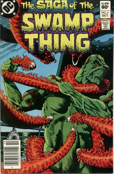 The saga of the Swamp Thing 6 - Sins on the Water