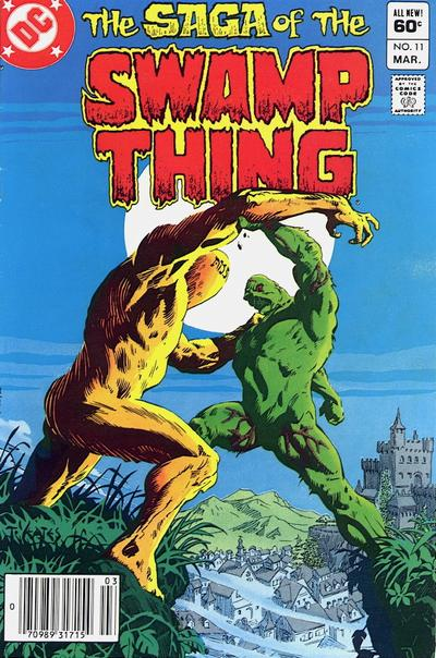 The saga of the Swamp Thing 11 - Heart of Stone, Feet of Clay