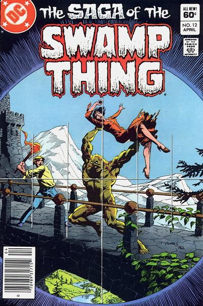 The saga of the Swamp Thing 12 - And Yet It Lives