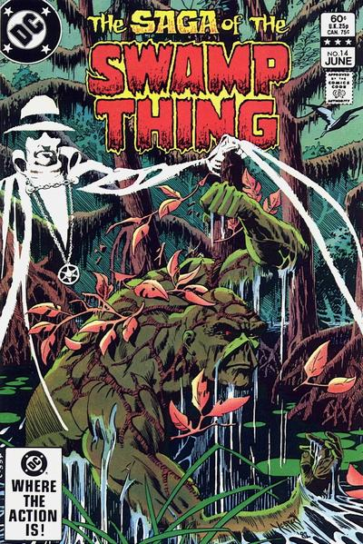 The saga of the Swamp Thing 14 - Crystal Visions, Shattered Dreams!