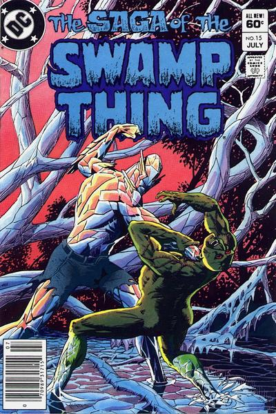 The saga of the Swamp Thing 15 - Empire Made of Sand