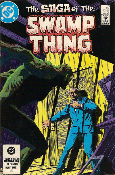The saga of the Swamp Thing 21 - The Anatomy Lesson