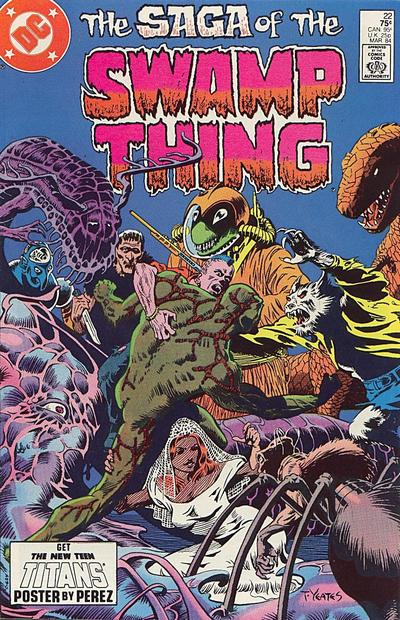 The saga of the Swamp Thing 22 - Swamped