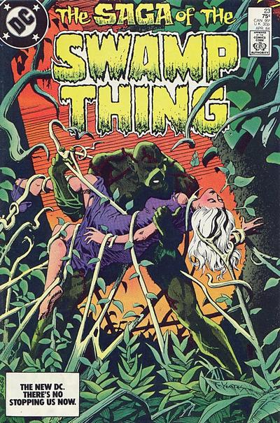 The saga of the Swamp Thing 23 - Another Green World