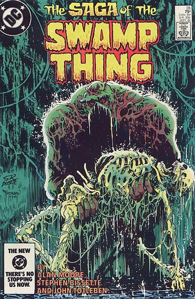 The saga of the Swamp Thing 28 - The Burial