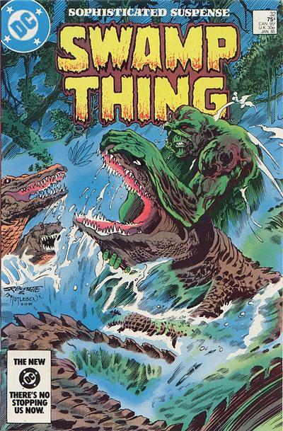 The saga of the Swamp Thing 32 - Pog