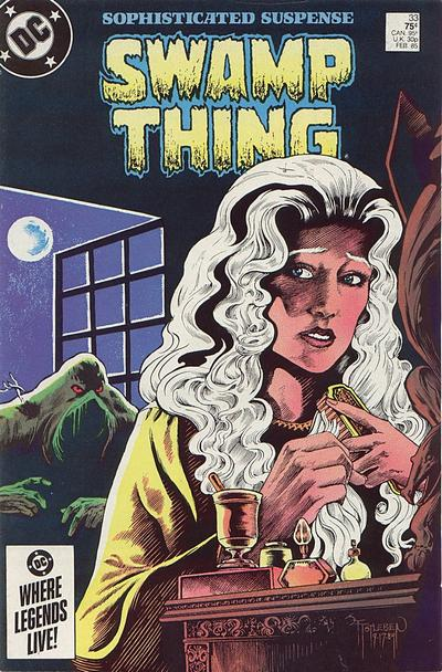 The saga of the Swamp Thing 33 - Abandoned Houses