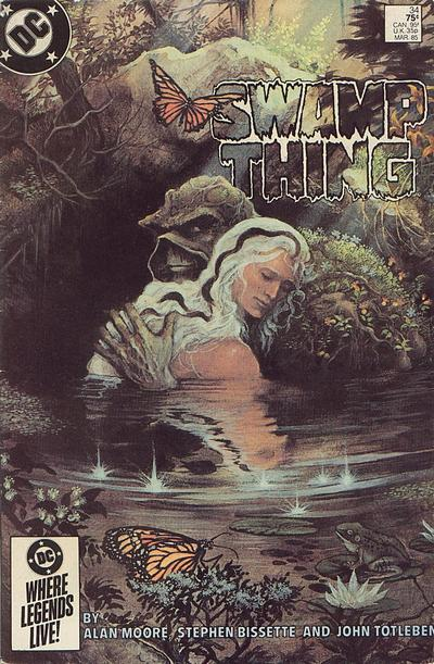 The saga of the Swamp Thing 34 - Rite of mars