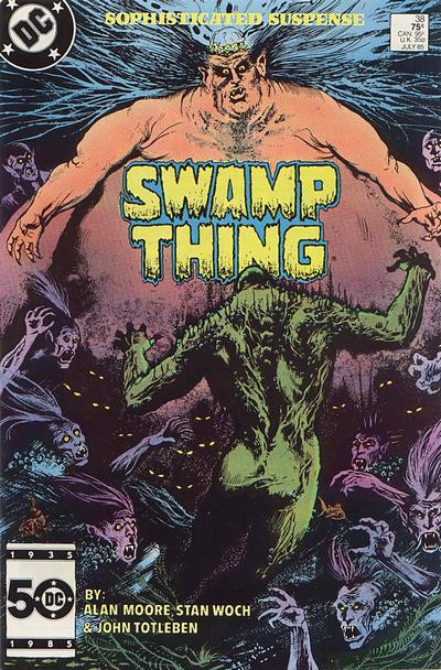 The saga of the Swamp Thing 38 - Still Waters