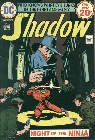 The Shadow 6 - Night of the Ninja