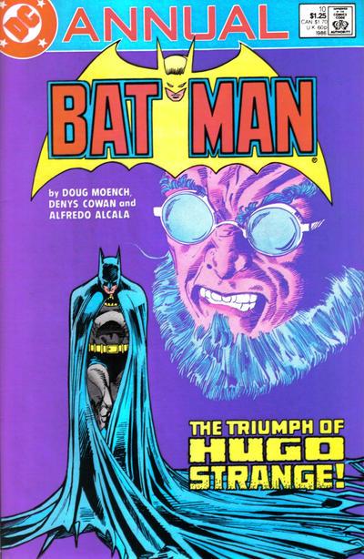 Batman 10 - Annual 10 Down To The Bone