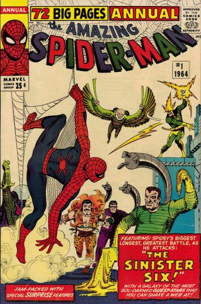 The Amazing Spider-Man 1 - Annual 01 : The Sinister Six!