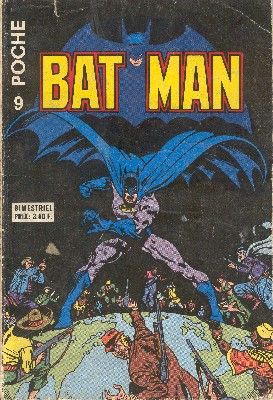Batman Poche 9 - Les olympiades des gredins.
