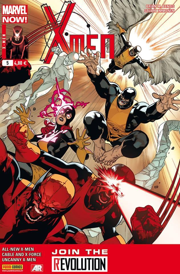 X-Men 5 - Couverture A : Immonen