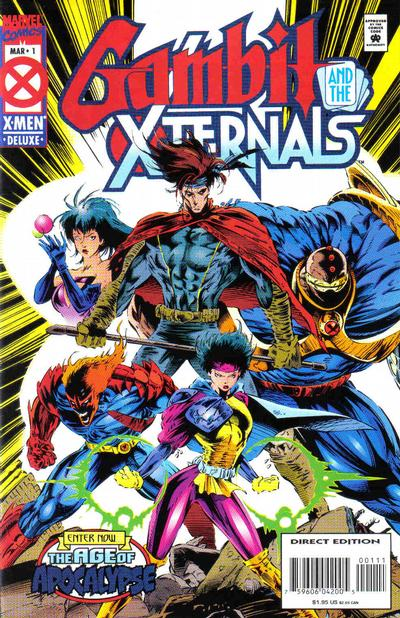 Gambit and the X-Ternals 1 - Some of Us Looking to the Stars