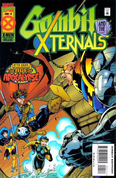 Gambit and the X-Ternals 4 - The Maze