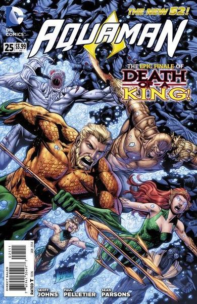 Aquaman 25 - 25 - cover #1