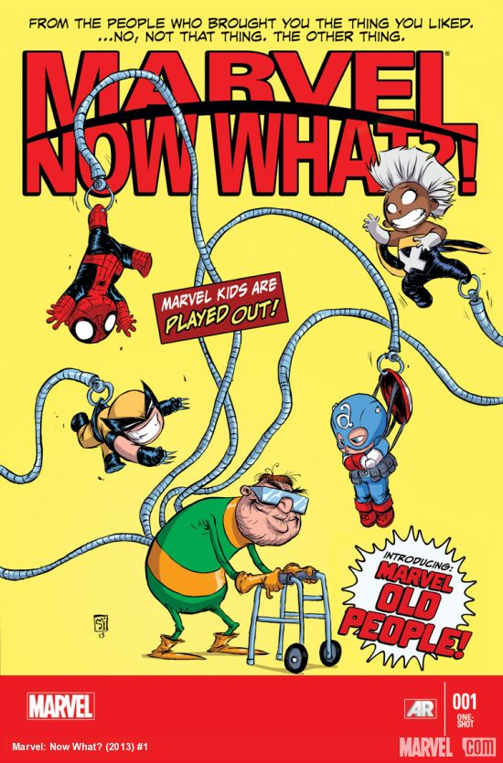 Marvel - Now What ? 1