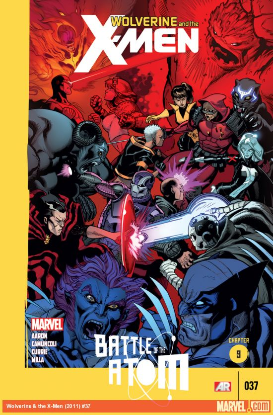 Wolverine And The X-Men 37 - Battle of the Atom, Chapter 9