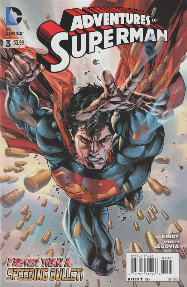 The Adventures of Superman 3 - Faster Than a Bullet