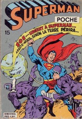 Superman Poche 15 - Superman poche N 15