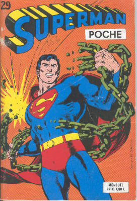 Superman Poche 29 - La flamme