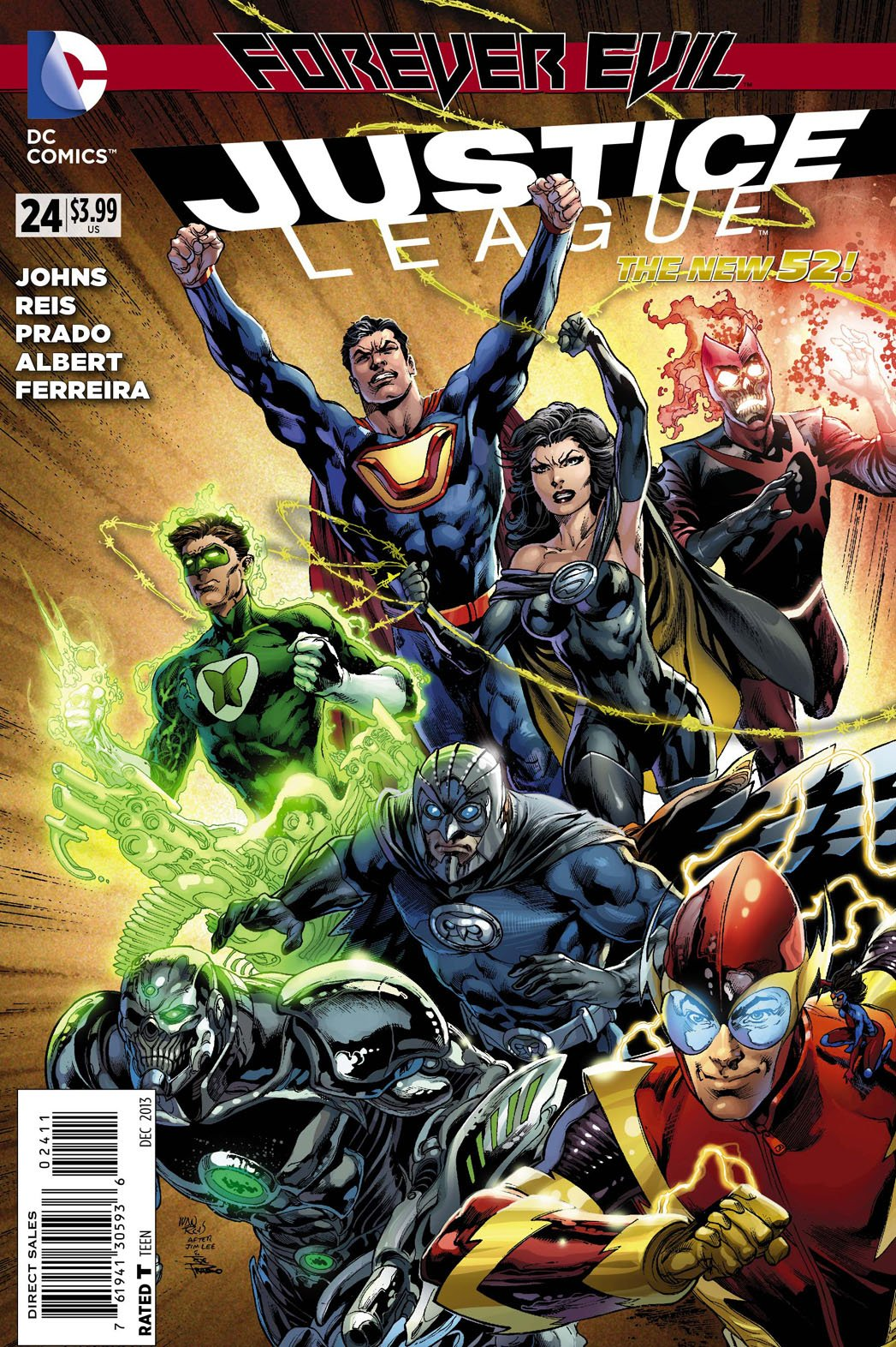 Justice League 24 - Forever Strong