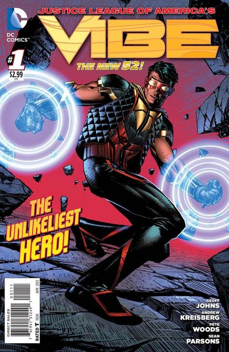Justice League of America's Vibe 1 - Not-So-Secret Origin