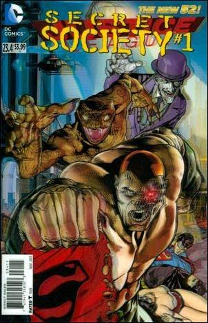 Justice League 23.4 - Secret Society